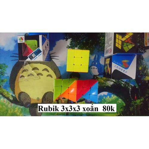 Rubik 3x3x3. Xoắn