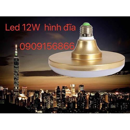 Bóng đèn led đĩa 12W