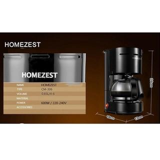 máy pha cà phê homezest - máy pha cafe tự động - máy pha cafe thumbnail