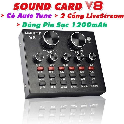 sound card v8 chính hãng