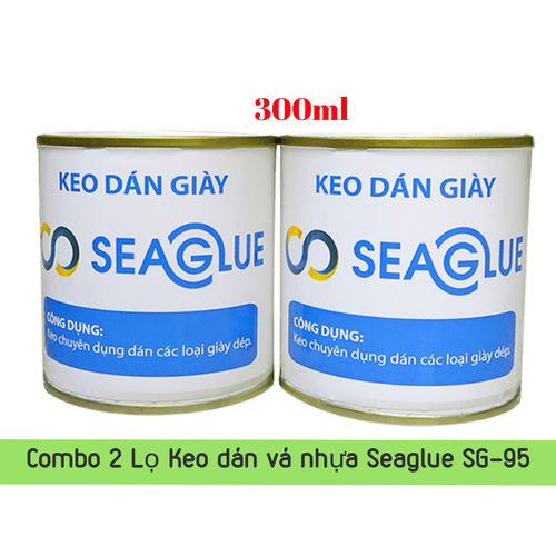 Combo 2 Lọ Keo dán nhựa SEAGLUE SG-95