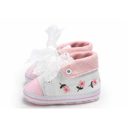 Giày thể thao cho bé gái, Giày tập đi, Giày cho bé từ 0-18 tháng