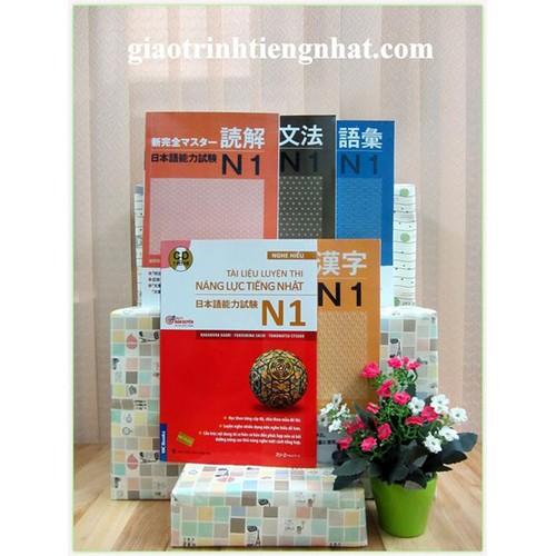 Shin kanzen master N1 – Trọn bộ 5 cuốn
