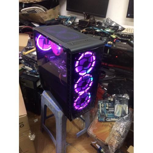Bô máy tính để bàn chuyên game đồ họa cấu hình cao H110 i3 6100 Ram 8gb GTX 1050 Fan led RGB - 5932580 , 12446741 , 15_12446741 , 8000000 , Bo-may-tinh-de-ban-chuyen-game-do-hoa-cau-hinh-cao-H110-i3-6100-Ram-8gb-GTX-1050-Fan-led-RGB-15_12446741 , sendo.vn , Bô máy tính để bàn chuyên game đồ họa cấu hình cao H110 i3 6100 Ram 8gb GTX 1050 Fan le