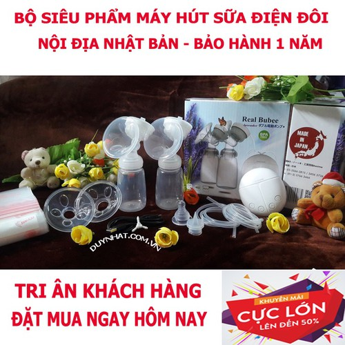 MÁY HÚT SỮA ĐIỆN REAL BUBEE XUẤT NHẬT BẢN - MADE IN JAPAN - 5936895 , 12450978 , 15_12450978 , 400000 , MAY-HUT-SUA-DIEN-REAL-BUBEE-XUAT-NHAT-BAN-MADE-IN-JAPAN-15_12450978 , sendo.vn , MÁY HÚT SỮA ĐIỆN REAL BUBEE XUẤT NHẬT BẢN - MADE IN JAPAN