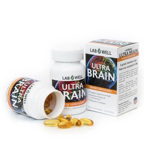 Viên uống bổ não giúp cải thiện trí nhớ 60v- Labwell
