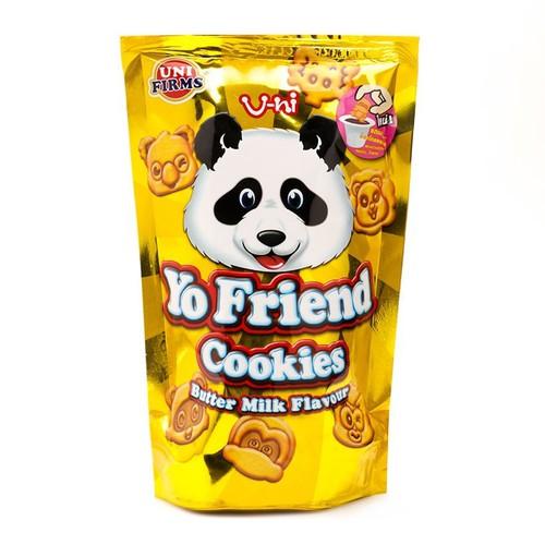 COMBO 12 Gói Bánh Gấu Chấm Kem Yo Friend Thái Lan Vị Chuối