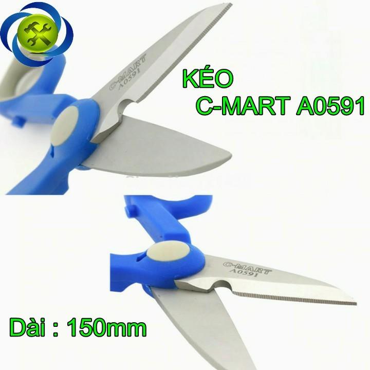 Kéo điện tử C-MART A0591 150mm 1