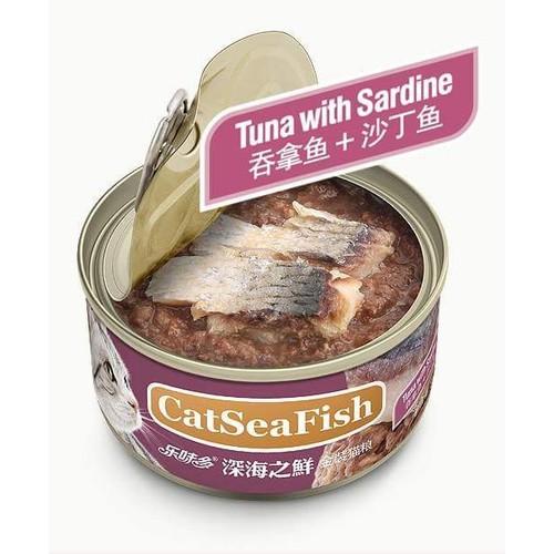 Thức ăn cho mèo - pate vị cá mòi