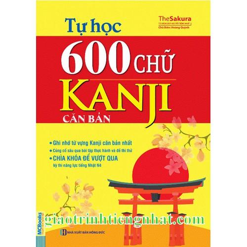 Tự học 600 chữ Kanji căn bản – Có tiếng Việt