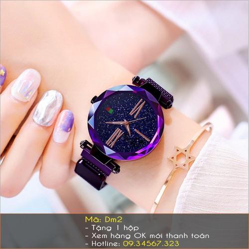 Đồng hồ nữ Dimini dây lụa đa sắc