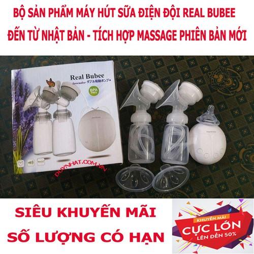 Máy Hút Sữa Điện Đôi Real Bubee - Realbubee Nhật