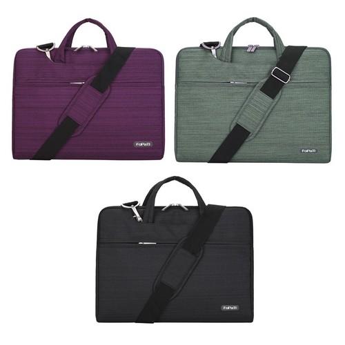 Túi chống sốc fopati có quai xách và dây đeo cho macbook, laptop - d1