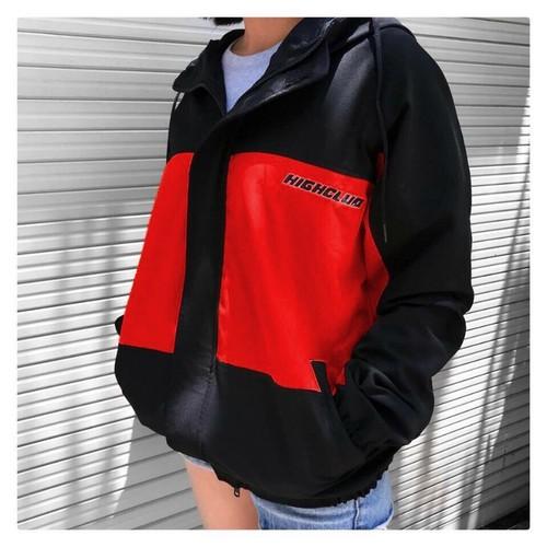 áo khoác dù thiết kế phối màu cá tính