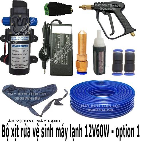 Bộ xịt rửa vệ sinh máy lạnh 12V 60W option 1 - 5959951 , 12477645 , 15_12477645 , 1148000 , Bo-xit-rua-ve-sinh-may-lanh-12V-60W-option-1-15_12477645 , sendo.vn , Bộ xịt rửa vệ sinh máy lạnh 12V 60W option 1