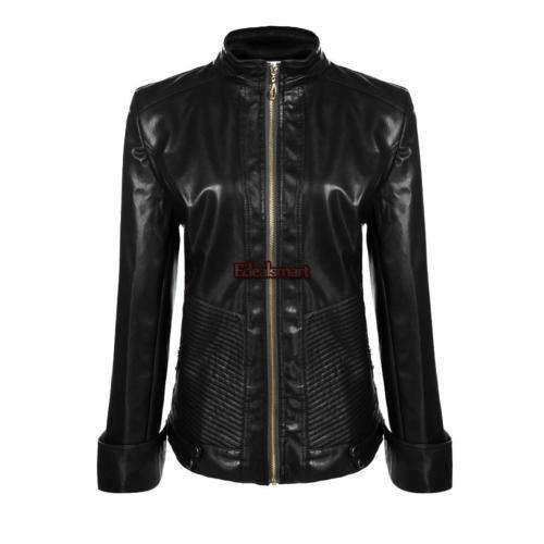 Áo khoác da nữ cao cấp - Hàng Nhập Khẩu