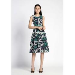 De Leah - Đầm Xoè Ren Thang - Thời trang thiết kế