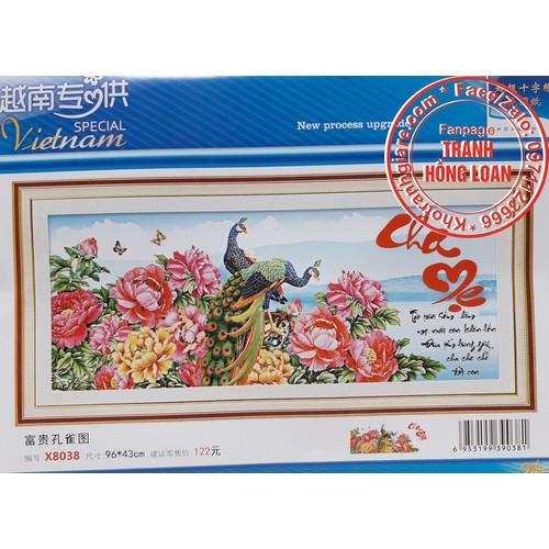 Tranh thêu chữ thập cha mẹ - 5960965 , 12478859 , 15_12478859 , 115000 , Tranh-theu-chu-thap-cha-me-15_12478859 , sendo.vn , Tranh thêu chữ thập cha mẹ