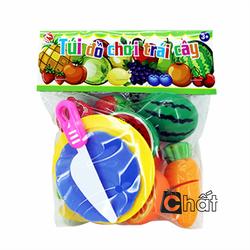 Bộ đồ chơi cắt trái cây loại nhỏ LT5488-7T