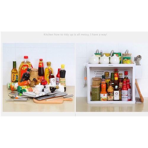 Kệ gia vị có khay ECC1704 dành cho phòng bếp đẹp