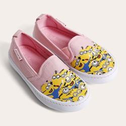 Giày bé gái D&A BG1604 hồng