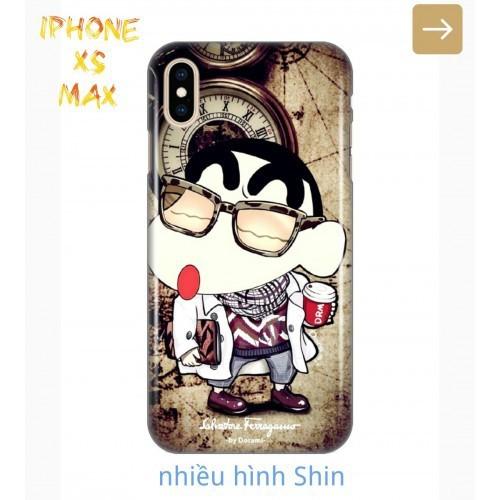 Ốp Lưng iPhone Xs Max Shin Cậu Bé Bút Chì