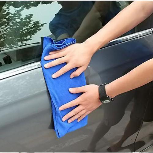 Combo 10 khăn lau đa năng- Khăn lau xe hơi-Khăn 30*70