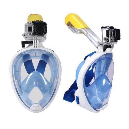 Mặt nạ bơi lội hỗ trợ lặn biển full face có giá đỡ gắn camera - 4514732 , 12476269 , 15_12476269 , 335000 , Mat-na-boi-loi-ho-tro-lan-bien-full-face-co-gia-do-gan-camera-15_12476269 , sendo.vn , Mặt nạ bơi lội hỗ trợ lặn biển full face có giá đỡ gắn camera