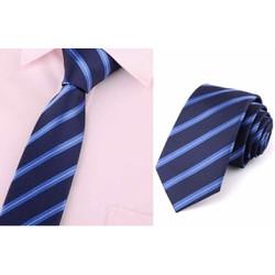 cà vạt nam bản nhỏ 5cm cao cấp