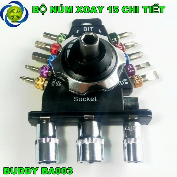 Bộ vít 15 chi tiết Buddy BA0033 1