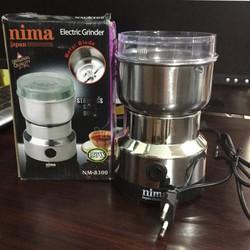 Máy xay tiêu xay cà phê mini đa năng NIMA NM8300 150W Bạc NTT