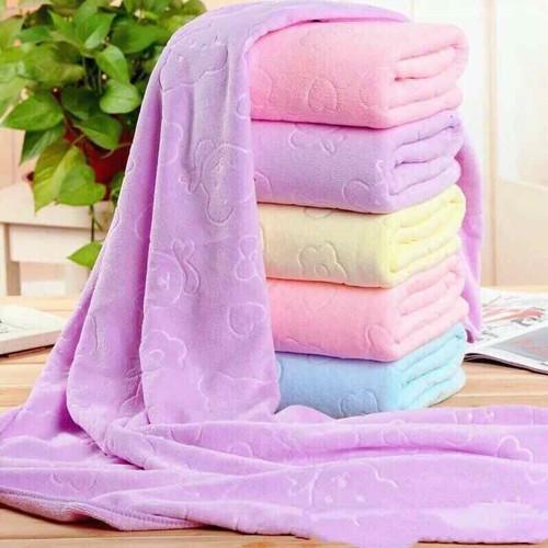 3 Khăn tắm xuất Nhật siêu mềm và mịn giao màu ngẫu nhiên