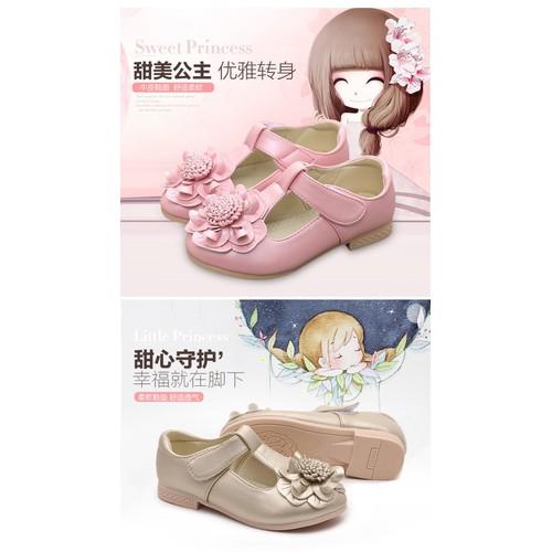 giày bé gái công chúa size 26-36 ảnh thật cuối mô tả