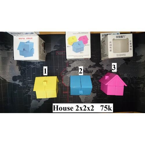 Biến thể Rubik. Biến thể Hình. House YJ. Hồng Số 3
