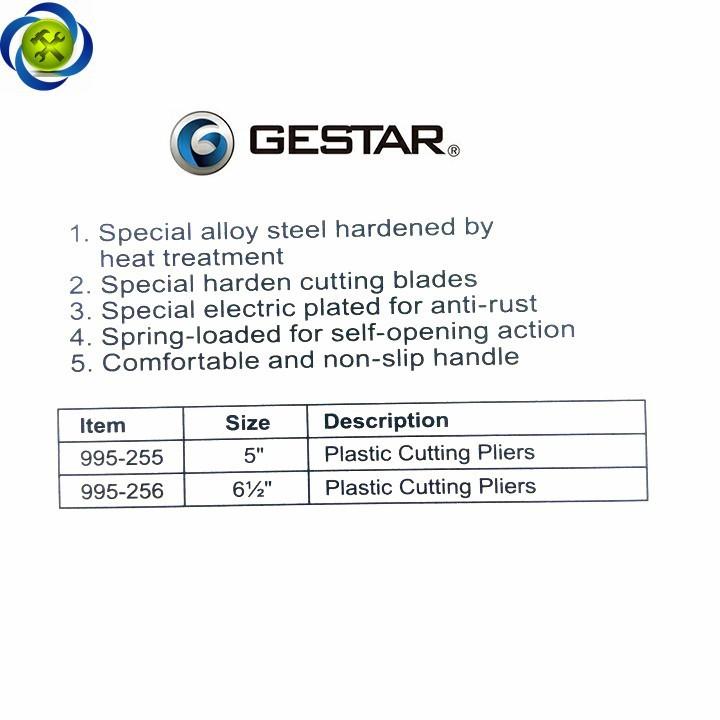 Kềm cắt chân linh kiện Gestar 995-255 5 inch 4