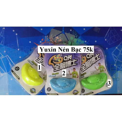 Biến thể Rubik. Biến thể Hình. Yuxin Nén Bạc. Xanh Lá Cây Số 3
