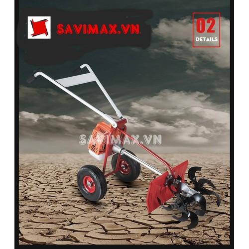 Máy cắt cỏ đẩy tay chữ Y Savi 2612-động cơ Honda 2 thì - 5955943 , 12472132 , 15_12472132 , 3850000 , May-cat-co-day-tay-chu-Y-Savi-2612-dong-co-Honda-2-thi-15_12472132 , sendo.vn , Máy cắt cỏ đẩy tay chữ Y Savi 2612-động cơ Honda 2 thì