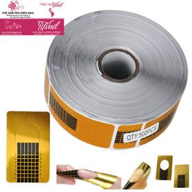 Phom Giấy Đắp Móng Bột 500 Miếng - Giayform01