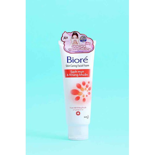 Sữa rửa mặt Sạch mụn và Kháng khuẩn Biore 50g - 5956579 , 12472327 , 15_12472327 , 32000 , Sua-rua-mat-Sach-mun-va-Khang-khuan-Biore-50g-15_12472327 , sendo.vn , Sữa rửa mặt Sạch mụn và Kháng khuẩn Biore 50g