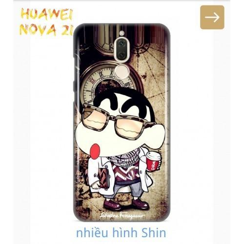 Ốp Lưng Huawei Nova 2i Shin Cậu Bé Bút Chì