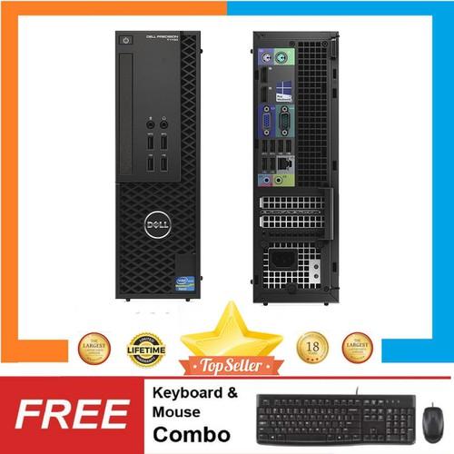 PC Dell Precision T1700 SFF + LCD 24inch,i3 4130,R 8GB,SSD120GB
