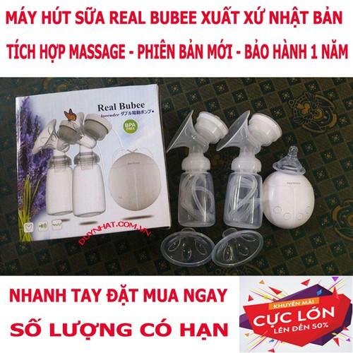 Máy hút sữa Real Bubee Nhật - Đồ dùng cho mẹ bầu