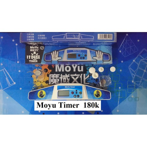 Phụ kiện Rubik. Timer Moyu - 5988208 , 12504998 , 15_12504998 , 180000 , Phu-kien-Rubik.-Timer-Moyu-15_12504998 , sendo.vn , Phụ kiện Rubik. Timer Moyu
