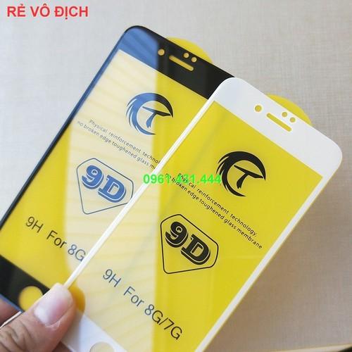 [RẺ VÔ ĐỊCH] Kính Cường Lực 9D Full Màn Cho Iphone 6|iphone 6S