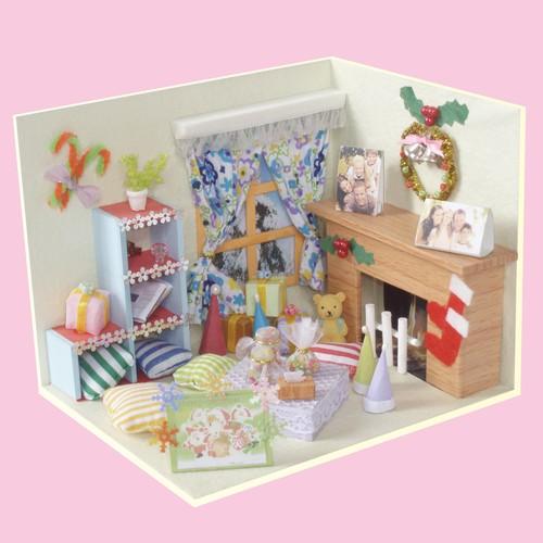 Mô hình nhà DIY Doll House Giáng Sinh Vui Vẻ