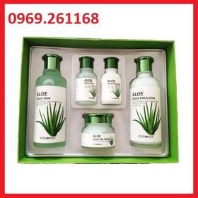 Bộ dưỡng da lô hội Aloe - Bộ dưỡng da lô hội Aloe