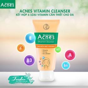 Acnes Vitamin Cleanser - Kem Rửa Mặt Vitamin - 023