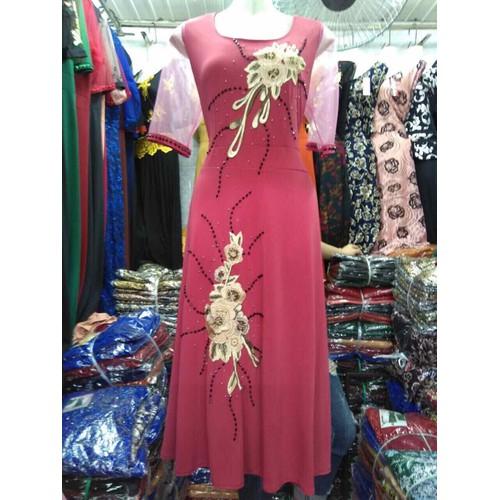 Đầm dạ hội dự tiệc trung niên form lửng