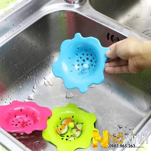 Lọc rác bồn rửa hình hoa
