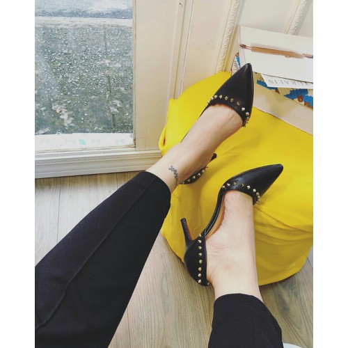 Giày cao gót bít mũi cao cấp